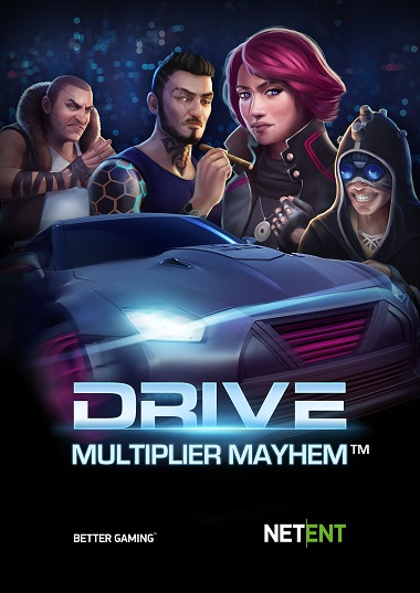Видеослот Drive: Multiplier Mayhem - краткая характеристика